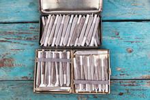 Tin Box  & Cigarette Case Full...