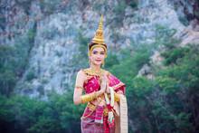 Beautiful Asian Woman In Tradi...