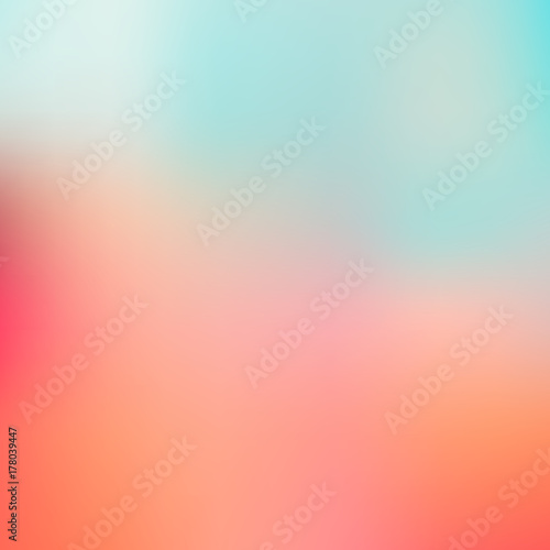 Photo  Abstract blurred gradient mesh background
