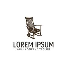 Rocking Chair Logo Design Conc...