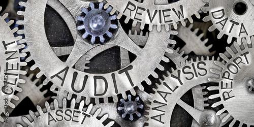 Fototapety, obrazy: Metal Wheel Concept