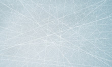 Scratched Blue Ice Surface Background.