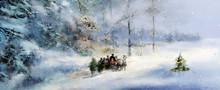 Weihnachten Winter Wald Schnee...