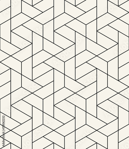 simple seamless geometric grid vector pattern - 178062232