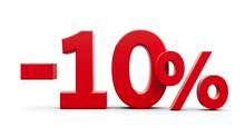 Red Minus Ten Percent
