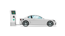 Electric Car Charging Station ...