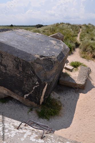 Poster  Bunkers allemands sur Utah Beach