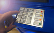 ATM machine close-up
