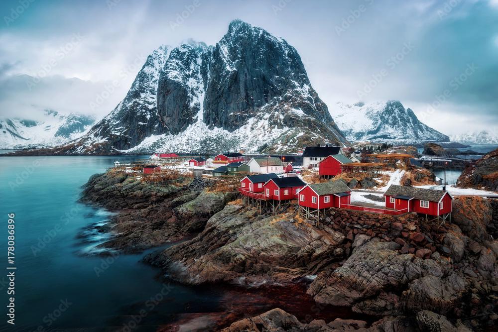 Fototapety, obrazy: Reine Norway