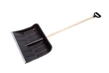 Black Snow Shovel, Isolated