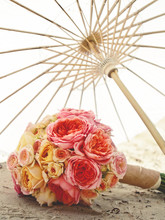 Bouquet On The Beach