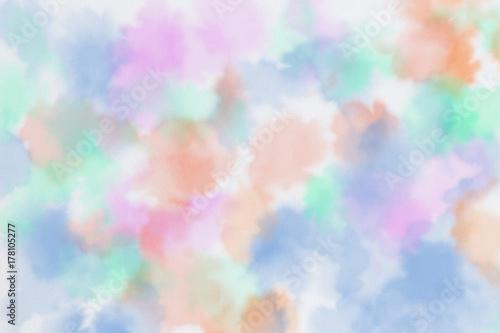 Plakat Abstrakcjonistyczna kolorowa akwarela dla tła