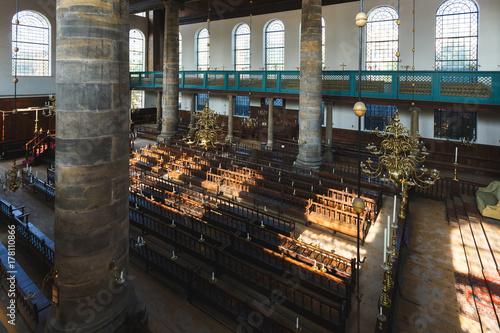 Zdjęcie XXL Synagoga Portugalska w Amsterdamie