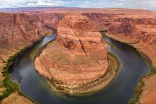 Horseshoe Bend, Colorado River. Grand Canyon, Page, Arizona. USA