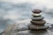 Zen stones. Peace buddhism meditation symbol