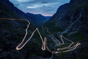 Fototapeta Góry Trollstigen Norway