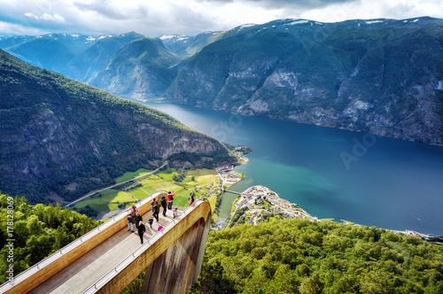 Stegastein Norway Wallpaper Mural