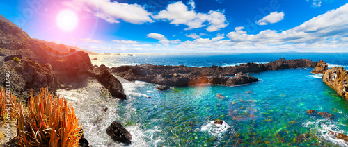 Pinturas sobre lienzo  Tenerife island scenery