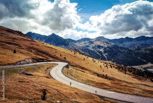 Andorra El Pas de la Casa Canvas Print