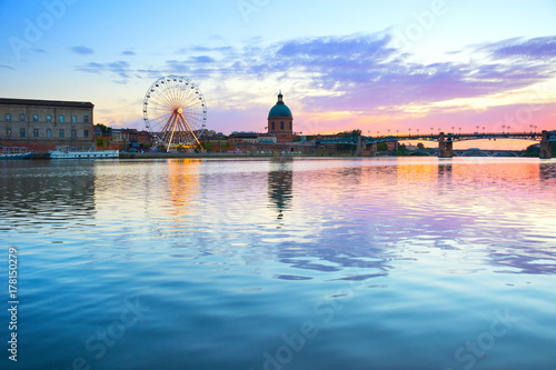 Sightseeing of Toulouse, France