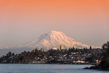 Mt.Rainier View From Tacoma, WA