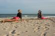 Clase de Yoga en la Playa