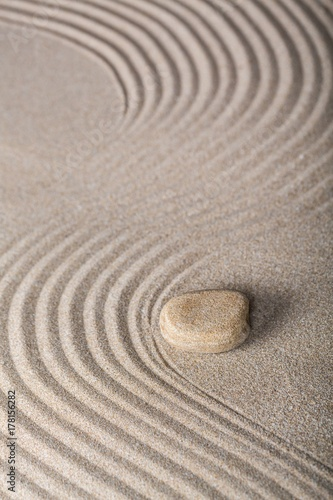 Deurstickers Stenen in het Zand Balance.