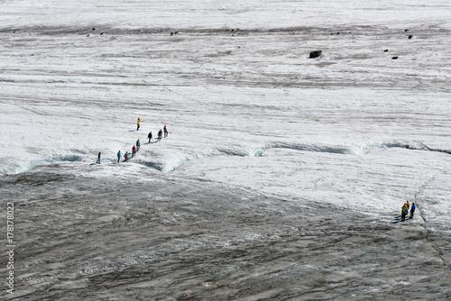 Zdjęcie XXL Zobacz na lodowcu Big Aktru. Republika Ałtaju. Rosja
