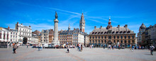 Lille (France) / Grand Place A...