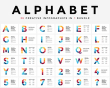 Vector Alphabet Infographic, P...