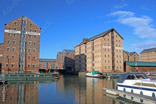 Photo  Gloucester Docks, England