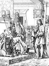 Joseph Interpret The Dream To Pharaoh.