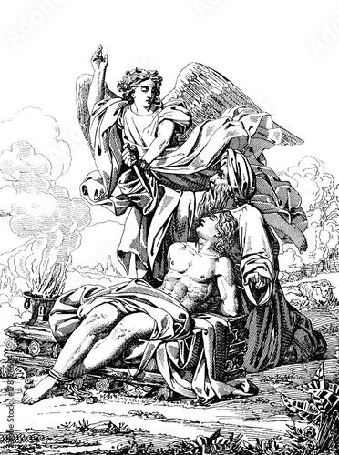 Foto  The Sacrifice Of Abraham.
