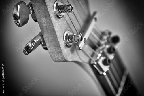 Fototapeta główka gitary