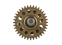 Old Gear Isolated On White Background