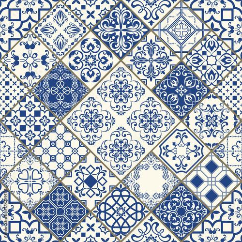 tradycyjne-ozdobne-portugalskie-dekoracyjne-plytki-azulejos-vintage-wzor-abstrakcyjne-tlo-wektorowa-reka-rysujaca-ilustracja