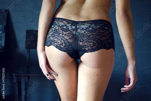 Lace Panties Ass Pics