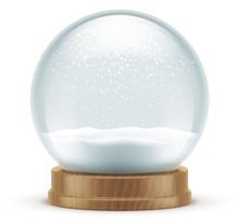 Boule à Neige Vectorielle 4