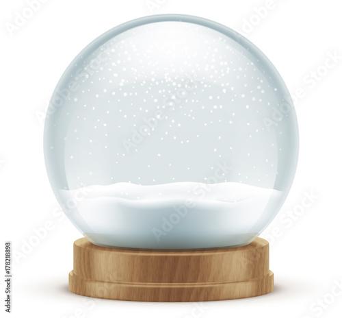 Obraz Boule à neige vectorielle 4 - fototapety do salonu