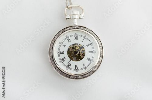 Plakat zegarek kieszonkowy
