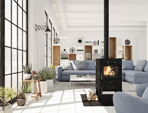Photographie 3d rendering