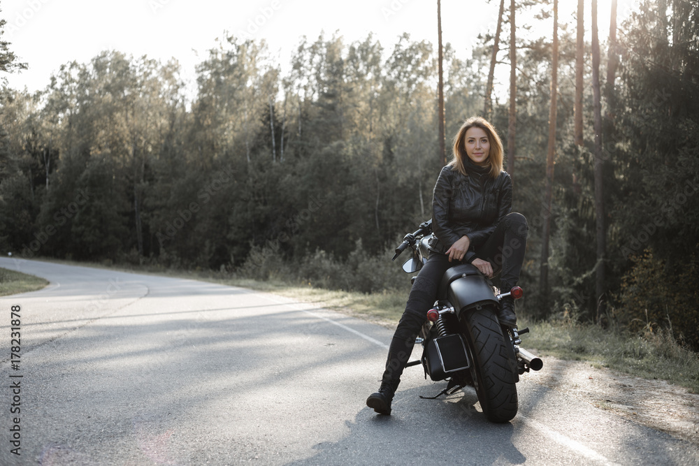 Sexy motorcycle posters