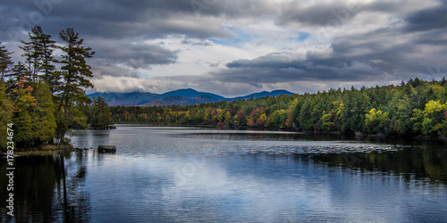Fall in Adirondack Mountains Canvas Print