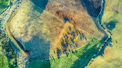 widok-z-lotu-ptaka-na-ziemi-uprawnej-z-drog-i-padoku-zwierzat-gospodarskich-na-wzgorzach-slops-w-poblizu-new-plymouth-region-taranaki
