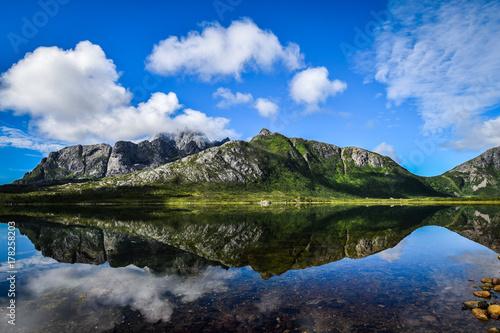 Plakat Lofoty, Norwegia