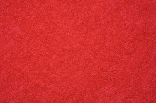 Texture Of Red Towel For A Background