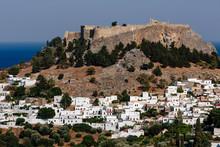 Lindos Town And Acropolis, Rho...