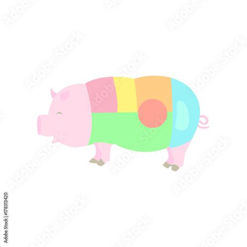 pig body diagram buy this stock vector and explore similar vectors Diagram Body Pig Gfetal pig body diagram