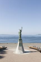 Statue Of Liberty Replica At S...