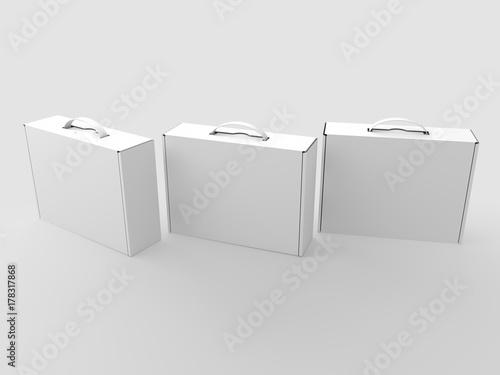 Photo White boxes
